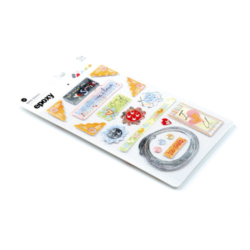 BasicGrey - Sugar Rush Collection - Epoxy Stickers, CLEARANCE