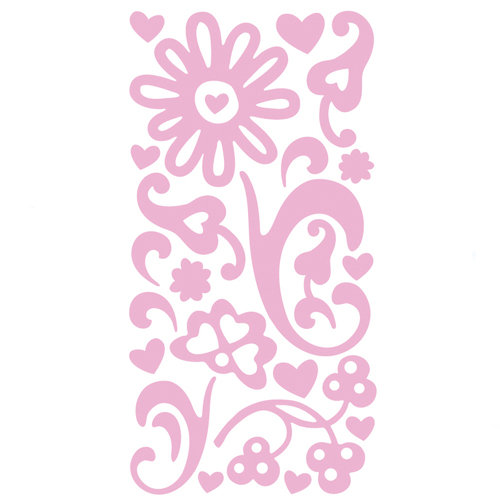 BasicGrey - Sugar Rush Collection - Varnish - Tinted Gloss Stickers - Pink