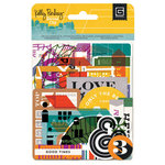 BasicGrey - Second City Collection - Die Cut Cardstock and Transparency Pieces