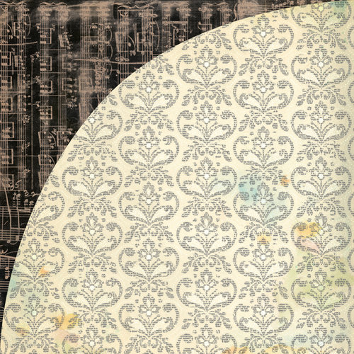 BasicGrey - Serenade Collection - 12 x 12 Double Sided Paper - Avalon