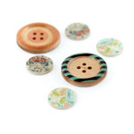 BasicGrey - Serenade Collection - Wood and Shell Buttons