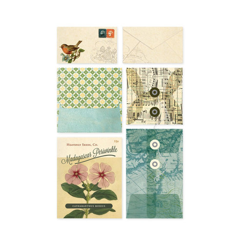 BasicGrey - Serenade Collection - Mini Envelopes