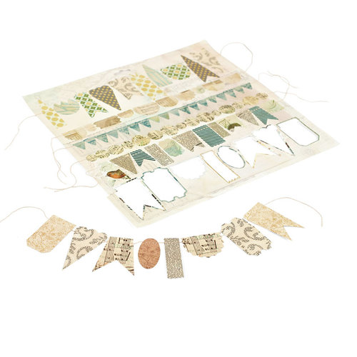 BasicGrey - Serenade Collection - Stitched Garland