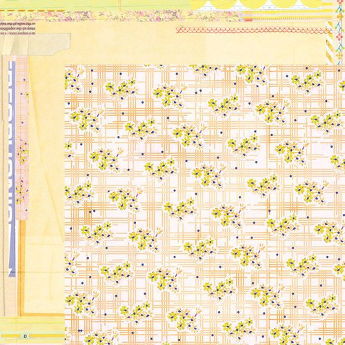 BasicGrey - Soleil Collection - 12 x 12 Double Sided Paper - Citrus