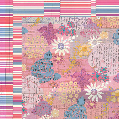 BasicGrey - Soleil Collection - 12 x 12 Double Sided Paper - Bikini