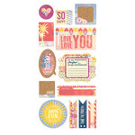 BasicGrey - Soleil Collection - Cardstock Stickers - Titles