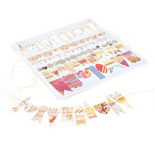 BasicGrey - Soleil Collection - Stitched Garland