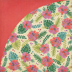 BasicGrey - South Pacific Collection - 12 x 12 Double Sided Paper - Tahiti