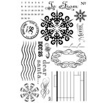 BasicGrey - Figgy Pudding Collection - Clear Stamp Set - North Pole