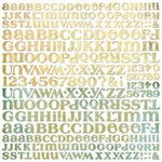 BasicGrey - Letter Stickers - Stella Ruby, CLEARANCE