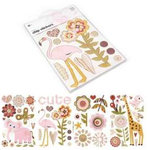 BasicGrey - Sugared Collection - Chipboard Sticker Shapes, CLEARANCE