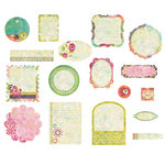 BasicGrey - Sweet Threads Collection - Die Cut Cardstock Pieces