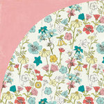 BasicGrey - Tea Garden Collection - 12 x 12 Double Sided Paper - Jasmine