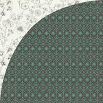 BasicGrey - Tea Garden Collection - 12 x 12 Double Sided Paper - Mint