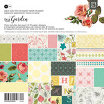 BasicGrey - Tea Garden Collection - 6 x 6 Paper Pad