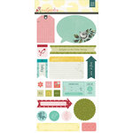 BasicGrey - Tea Garden Collection - Title Stickers