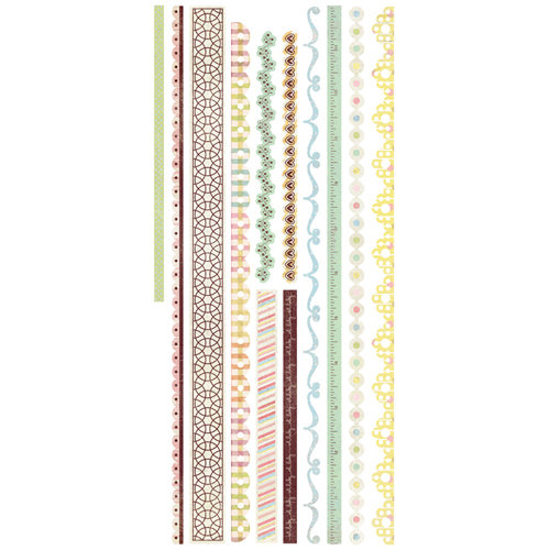 BasicGrey - Cardstock Stickers - Baby Trim
