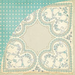 BasicGrey - True Love Collection - 12 x 12 Double Sided Paper - Vintage Love