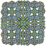 BasicGrey - Oliver Collection - Doilies - 12 x 12 Die Cut Paper - X and O, CLEARANCE