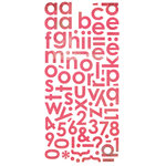 BasicGrey - Olivia Collection - Mini Monogram Stickers, CLEARANCE