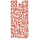 BasicGrey - Wander Collection - Mini Monogram Stickers, CLEARANCE