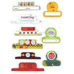 BasicGrey - Wander Collection - Office Tabs - Self Adhesive Paper Labels, CLEARANCE