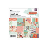 BasicGrey - Whats Up Collection - 6 x 6 Paper Pad