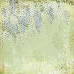 BasicGrey - Wisteria Collection - 12x12 Paper - Gazebo
