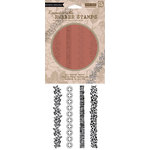 Hero Arts - BasicGrey - Little Black Dress Collection - Clings - Repositionable Rubber Stamps - Borders