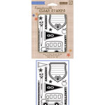 Hero Arts - BasicGrey - Oxford Collection - Poly Clear - Clear Acrylic Stamps - Brilliant