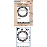 Hero Arts - BasicGrey - Picadilly Collection - Poly Clear - Clear Acrylic Stamps - Hello There