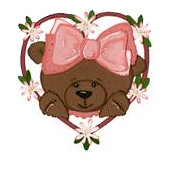Bosskut - Personal Die Cutting Machine - Die Cutting Template - Heart Bear Frame - 2 Pieces, CLEARANCE