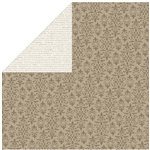 Bella Blvd - Estate Collection - 12 x 12 Double Sided Paper - Linens