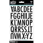 Bella Blvd - Illustrated Faith - 5 x 9 Alphabet Stickers - Big and Bold - Black Eyed Pea