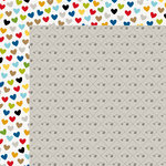 Bella Blvd - Riley Collection - 12 x 12 Double Sided Paper - Fish Bone