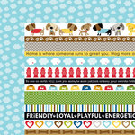Bella Blvd - Rover Collection - 12 x 12 Double Sided Paper - Rover Borders
