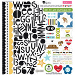 Bella Blvd - Rover Collection - 12 x 12 Cardstock Stickers - Treasures and Text