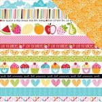Bella Blvd - Fresh Market Collection - 12 x 12 Double Sided Paper - Borders