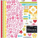 Bella Blvd - Fresh Market Collection - 12 x 12 Cardstock Stickers - Treasures and Text