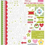Bella Blvd - Make It Merry Collection - Christmas - 12 x 12 Cardstock Stickers - Treasures and Text