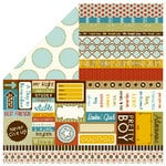 Bella Blvd - Man of the House Collection - 12 x 12 Double Sided Paper - Bits a Bella, CLEARANCE