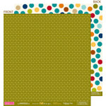 Bella Blvd - One Fall Day Collection - 12 x 12 Double Sided Paper - Needle in a Hay Stack, CLEARANCE