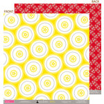 Bella Blvd - Socialite Collection - 12 x 12 Double Sided Paper - Dance Circle