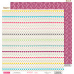 Bella Blvd - Lovey Dovey Collection - 12 x 12 Double Sided Paper - Sweetheart