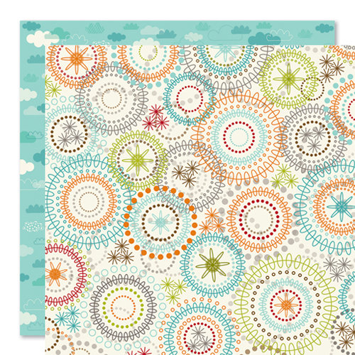 Bella Blvd - Tail Waggers and Cat Naps Collection - 12 x 12 Double Sided Paper - Companion
