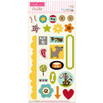 Bella Blvd - Tail Waggers and Cat Naps Collection - Ciao Chip - Self Adhesive Chipboard - Icons