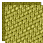 Bella Blvd - Sophisticates Collection - 12 x 12 Double Sided Paper - Sprinkles and Lace - Asparagus