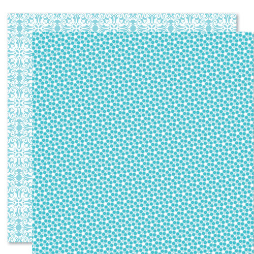 Bella Blvd - Sophisticates Collection - 12 x 12 Double Sided Paper - Sprinkles and Lace - Ice