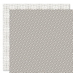 Bella Blvd - Sophisticates Collection - 12 x 12 Double Sided Paper - Sprinkles and Lace - Oyster