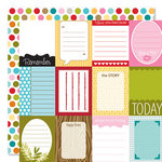 Bella Blvd - Sophisticates Collection - 12 x 12 Double Sided Paper - Short Stories